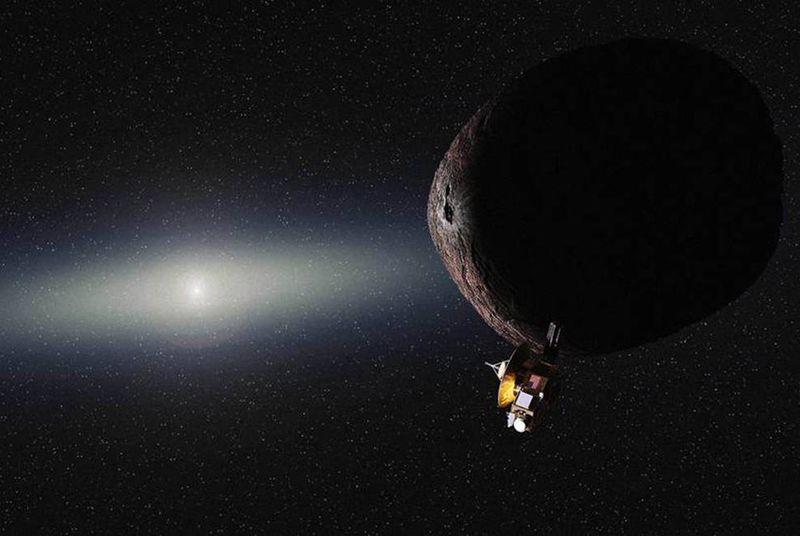 NASA определилось с тем, куда полетит New Horizons после Плутона (+ анимация сближения с планетоидом) - 1