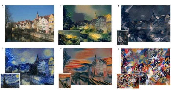 Нейросеть создаёт картины в стиле Ван Гога и Пикассо - 1
