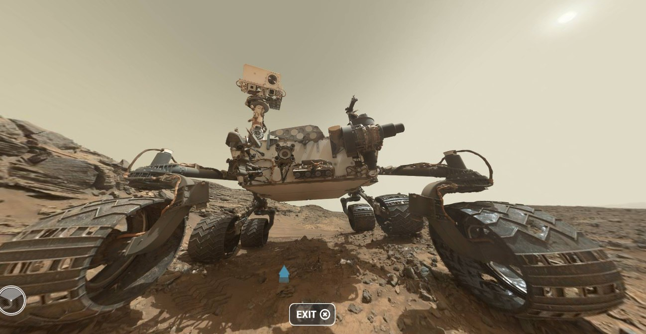 Curiosity — первые шаги по склону - 13