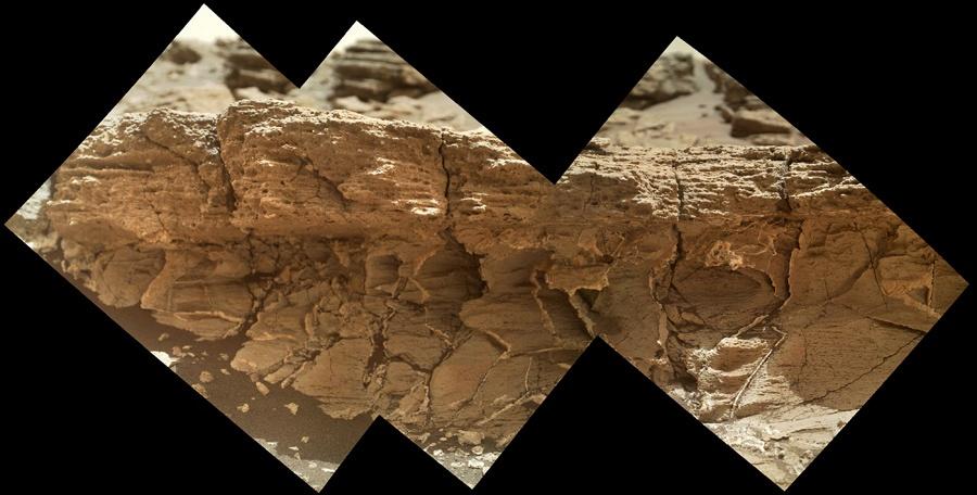Curiosity — первые шаги по склону - 9