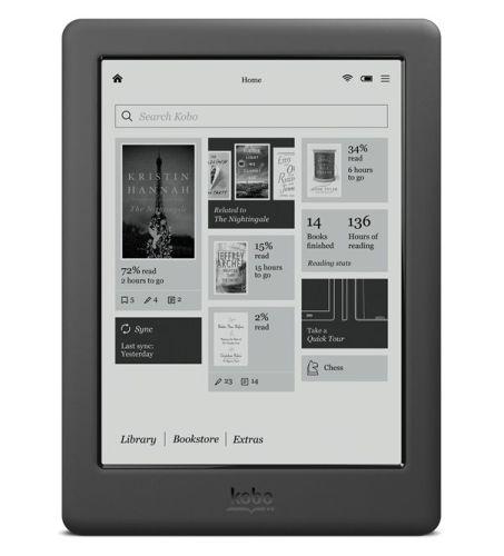 Kobo представила электронную книгу Touch 2.0