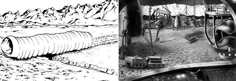 Проекты лунных баз: история - 3