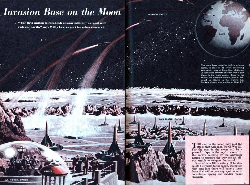 Проекты лунных баз: история - 4