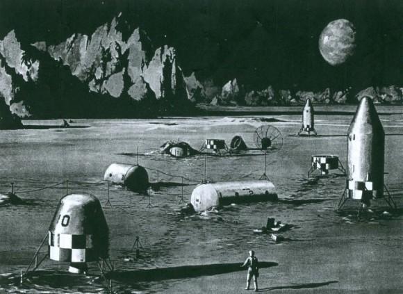 Проекты лунных баз: история - 7