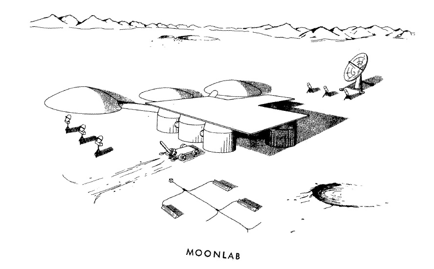 Проекты лунных баз: история - 9