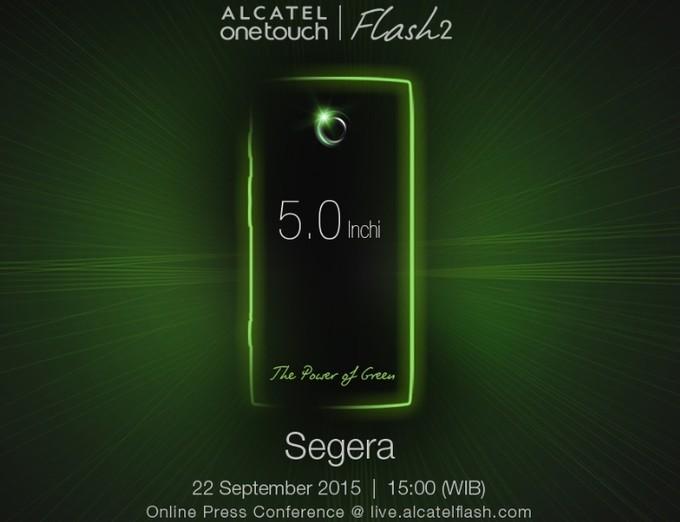 Смартфон Alcatel OneTouch Flash 2 получит пятидюймовый дисплей