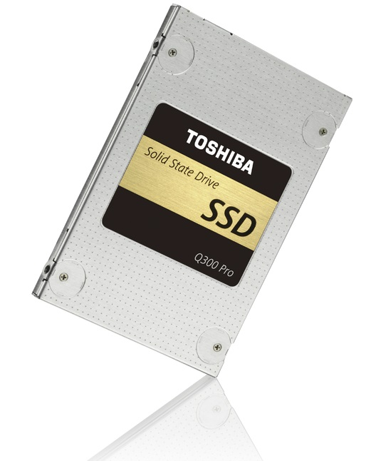 Накопители Toshiba Q300 и Q300 Pro появятся в продаже в этом месяце