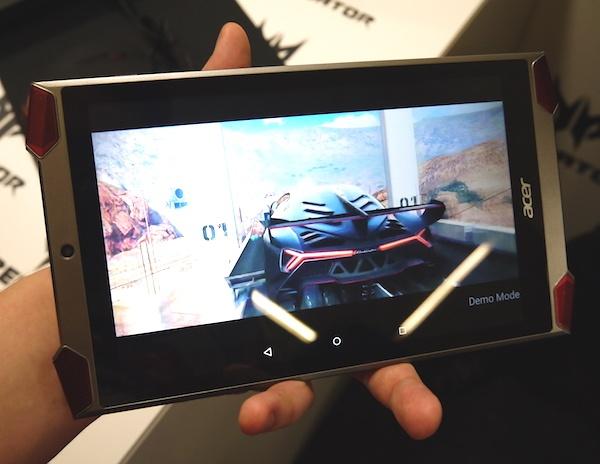 На IFA 2015 производитель представил Android-планшет Predator 8, рассчитанный на любителей игр