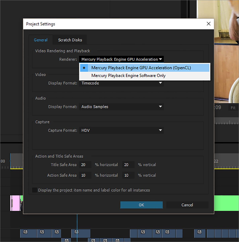 OpenCL в Adobe Premiere Pro: насколько GPU быстрее CPU? - 7