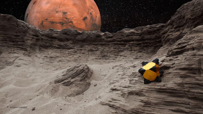 NASA опубликовало видео испытаний инерционного робота-ежа для исследования комет и астероидов - 1