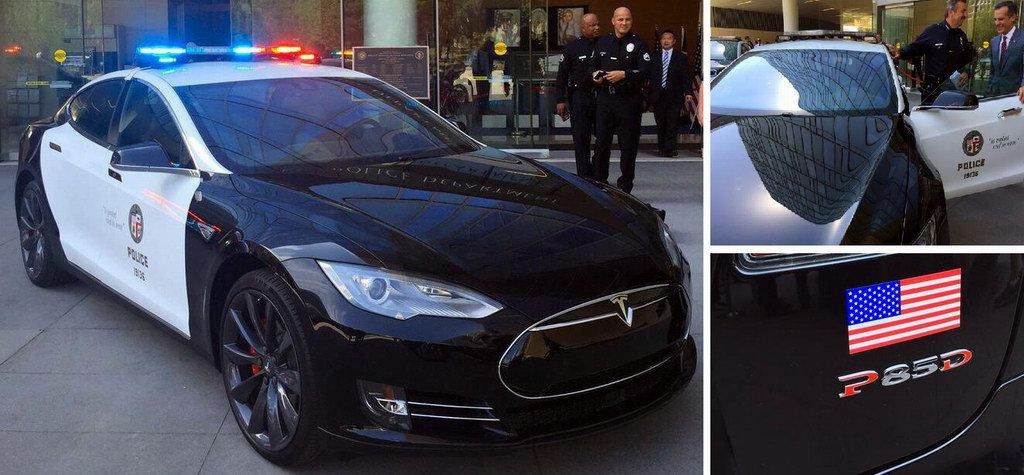 Лос-анджелеская полиция пересядет на электромобили Tesla и BMW - 1