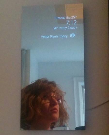 Умное зеркало c информером - 1