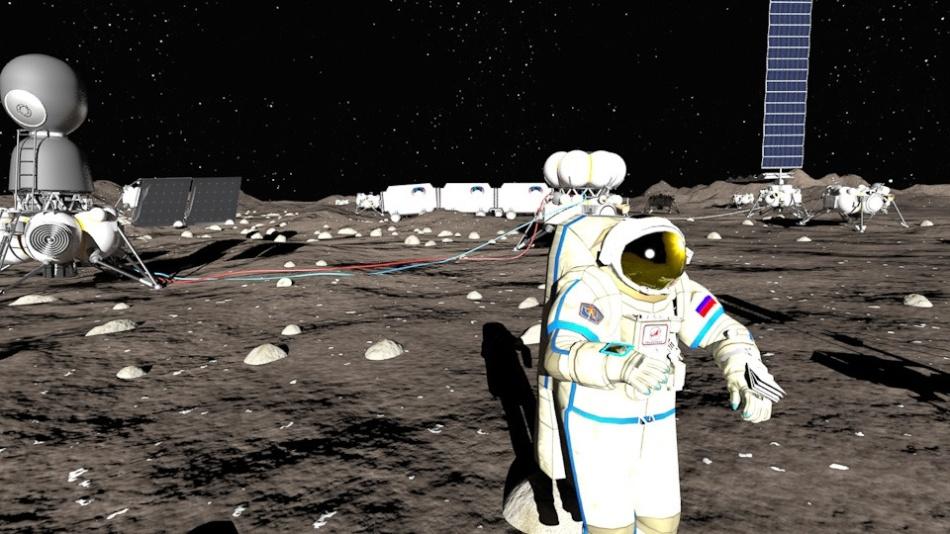 Проекты лунных баз: вчера и сегодня - 1