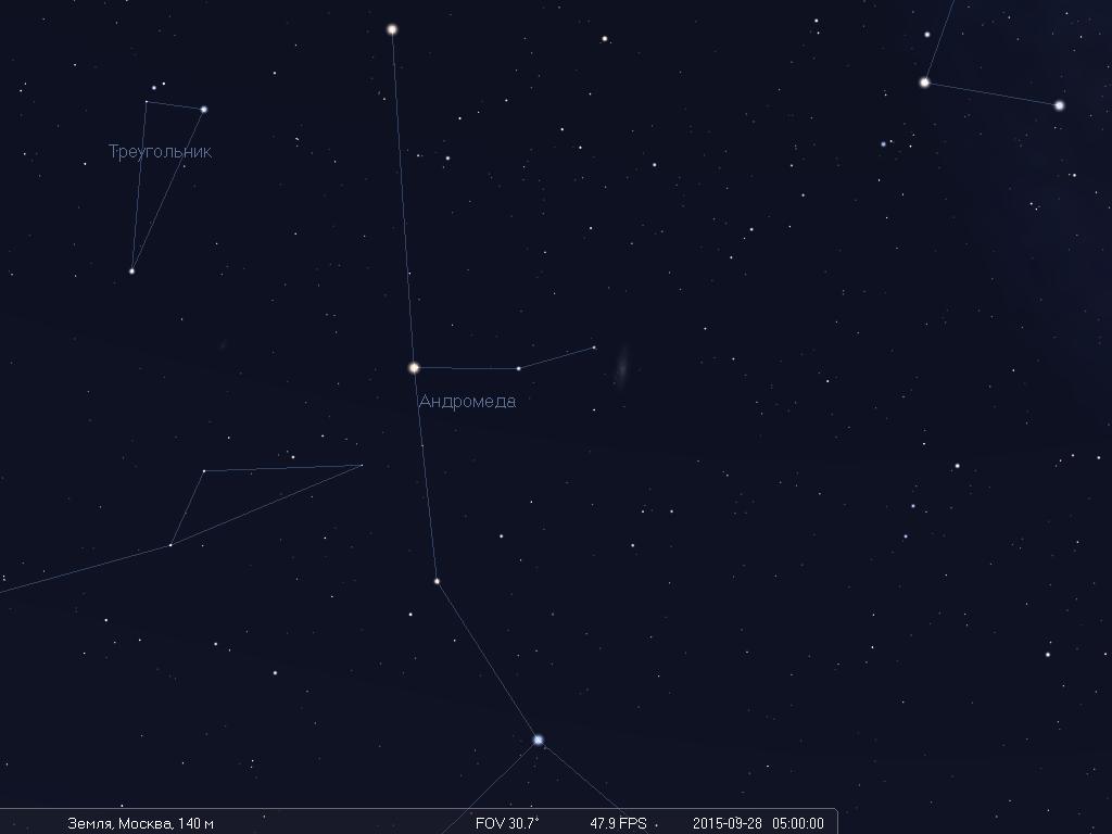Что будет видно на небе утром 28 сентября во время лунного затмения - 10