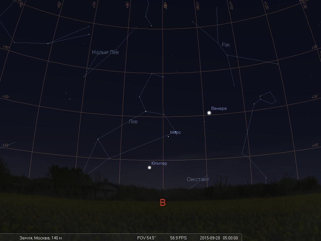 Что будет видно на небе утром 28 сентября во время лунного затмения - 2