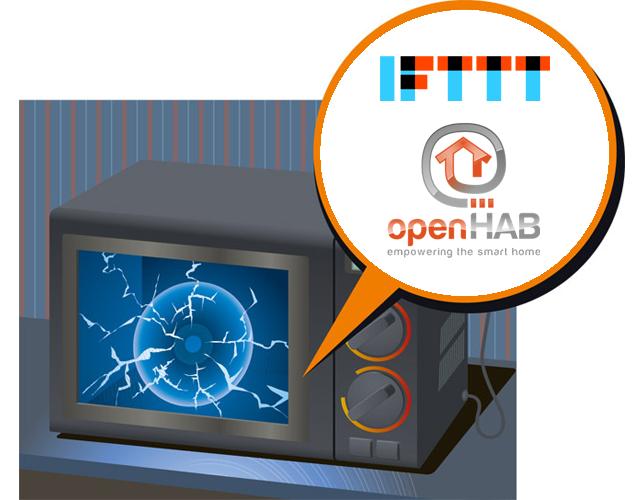 Делаем обычную микроволновку умнее с IFTTT и OpenHAB - 1