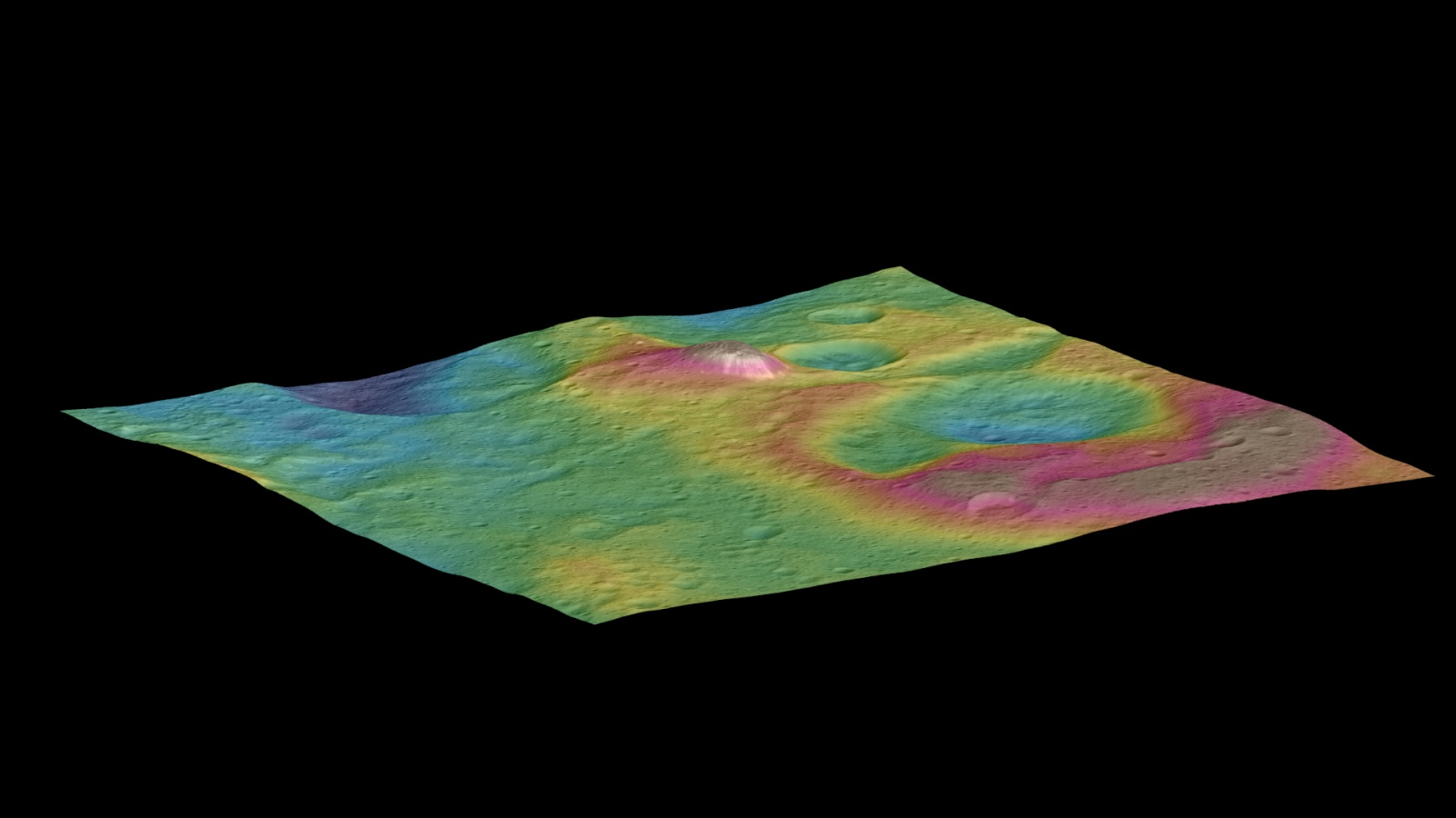 Церера продолжает удивлять ученых: неправильная геометрия кратеров и электромагнитные вспышки - 2