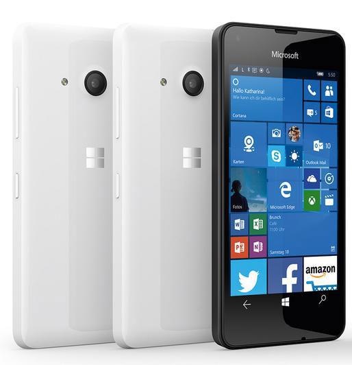 Основой Lumia 550 послужит SoC Snapdragon 210