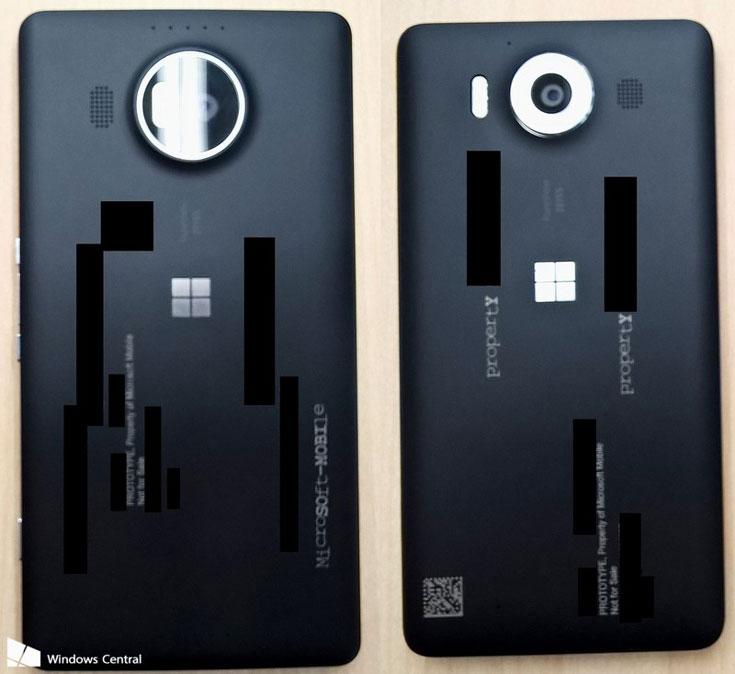 Завтра ожидается анонс смартфонов Lumia 950 и 950 XL с тройными вспышками и поддержкой двух карт SIM