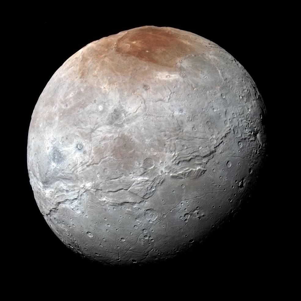 «Каньон» на Хароне, спутнике Плутона представляет собой гигантский разлом коры - 1