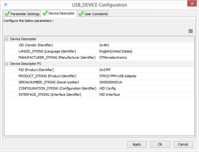 Подключаем авиамодельный пульт к компьютеру с помощью STM32 CubeMX, или PPM-to-USB адаптер на STM32F3-Discovery - 19