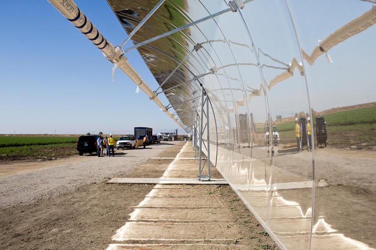 В Калифорнии строится крупнейшая опреснительная станция в стране на солнечной энергии - 1