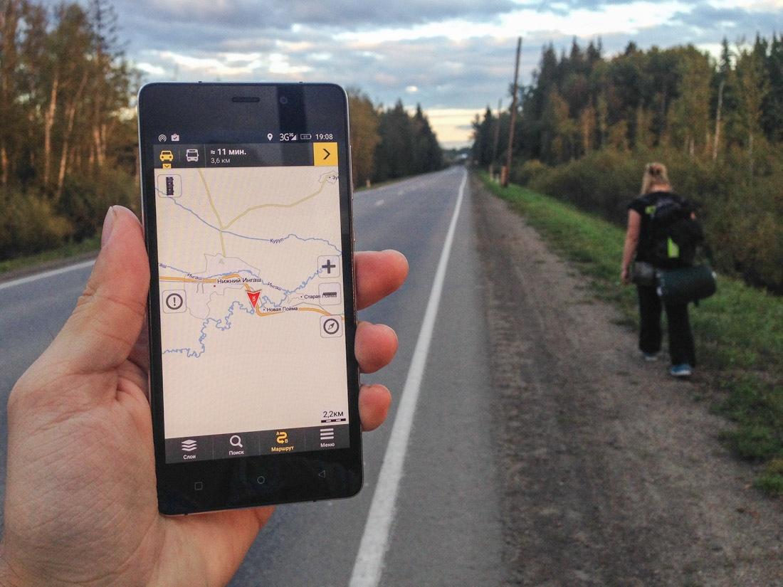 Как мы с Highscreen Power Five проехали автостопом 10 тысяч километров от Москвы до Владивостока - 1