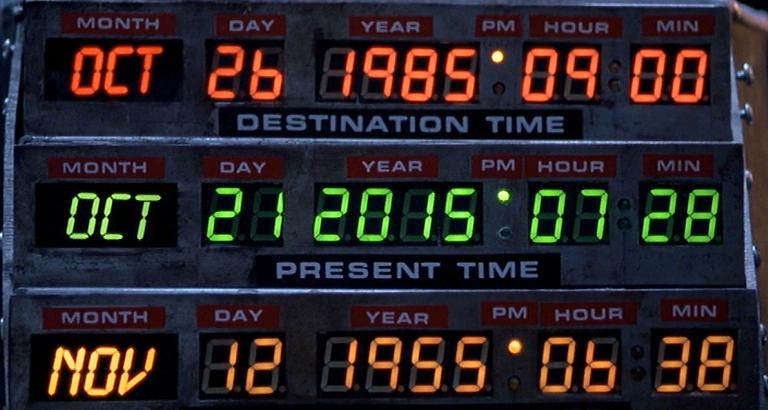 Сегодня Марти Макфлай прибыл в будущее - 1