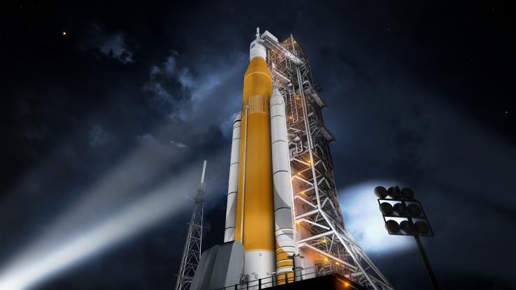 Сверхтяжёлая ракета-носитель SLS утверждена и отправлена в производство - 1
