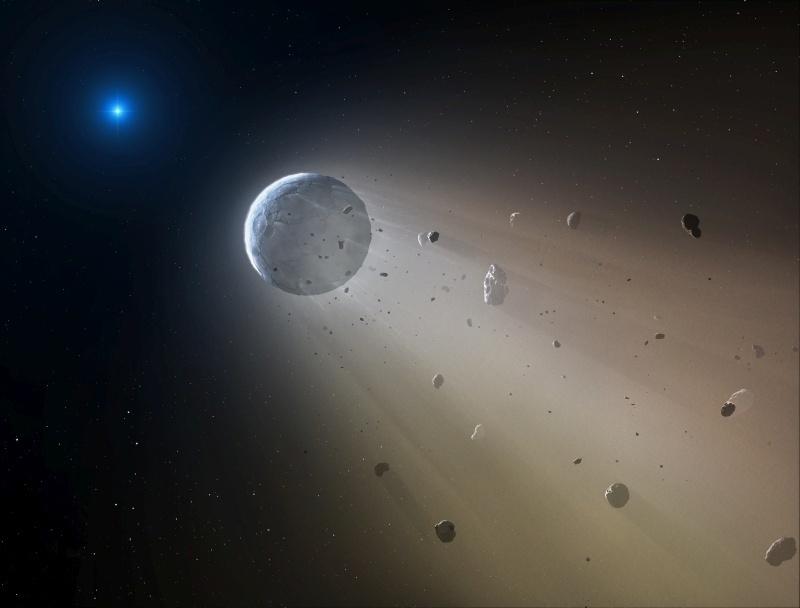 Учёные увидели, как белый карлик поедает свою планету - 1