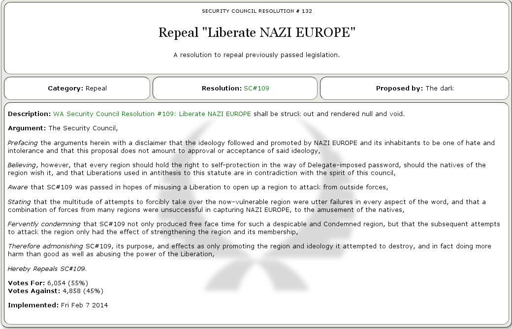 Политический симулятор NationStates - 8