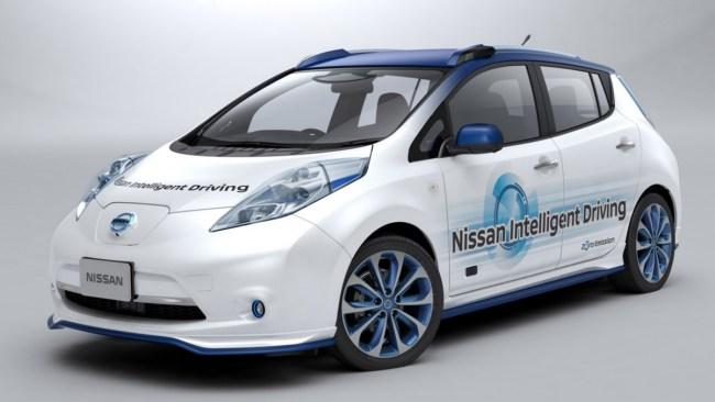 Nissan начала испытания своего самоуправляемого автомобиля
