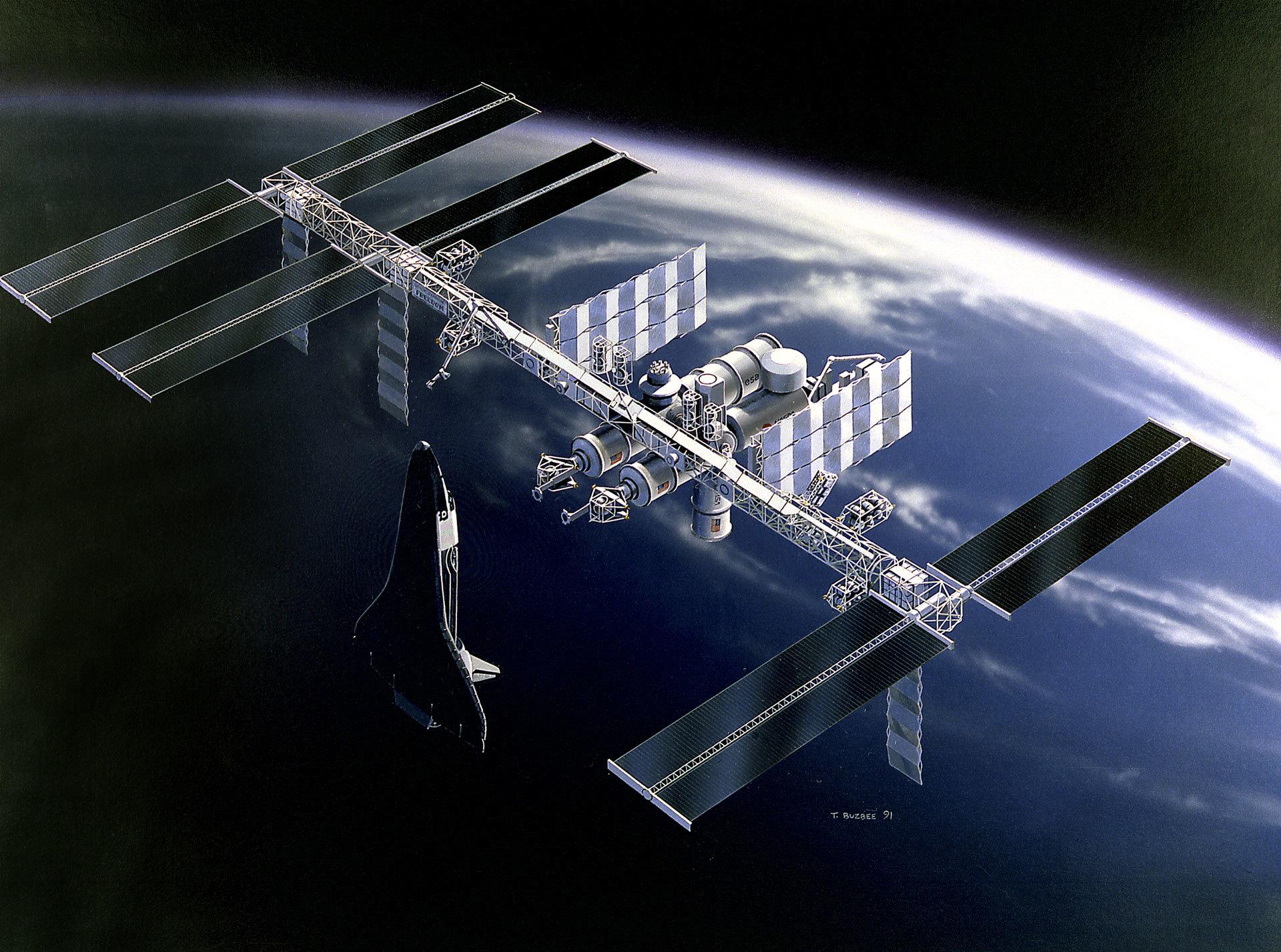 15 лет работе Международной космической станции - 2