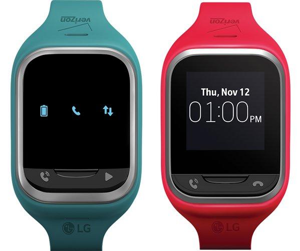 LG готовит детские умные часы