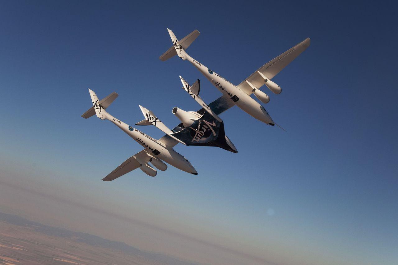 Virgin Galactic покажет новую версию SpaceShipTwo в феврале 2016 - 1