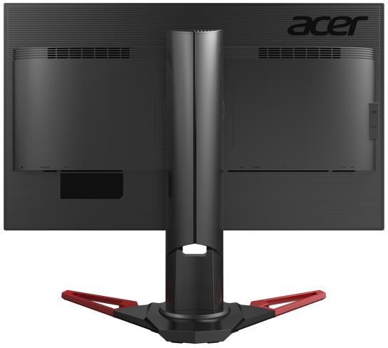 Одновременно представлена похожая внешне модель Acer XB271HU
