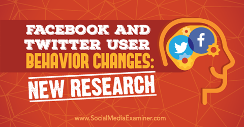 Тенденции и тренды: Поведение пользователей Facebook и Twitter изменяется. МедиаТренды - 1
