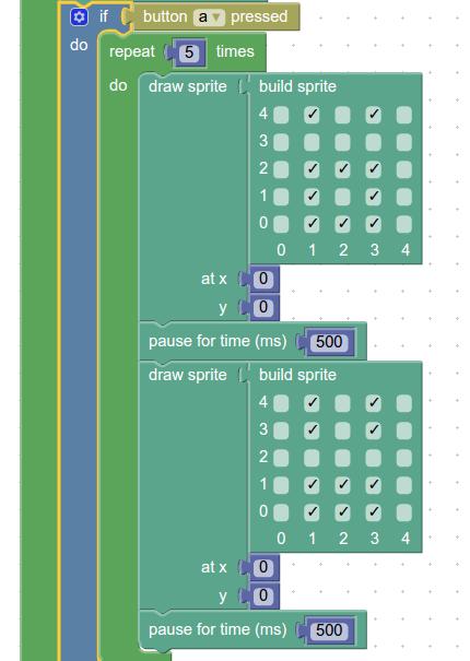 Создаем виртуального питомца из платы CodeBug - 11