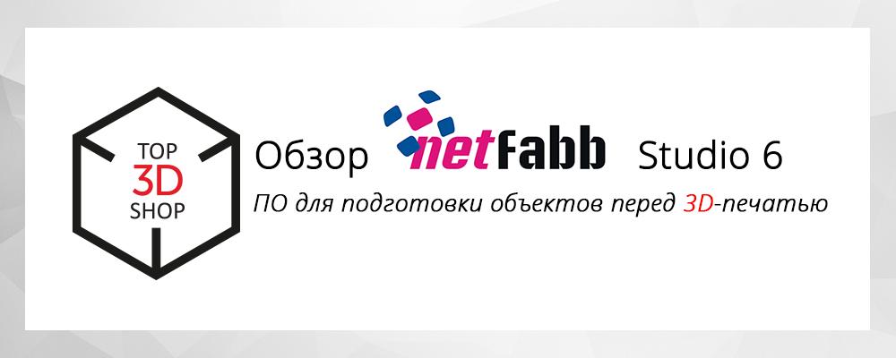 Обзор ПО для 3D-печати Netfabb Studio 6 - 1