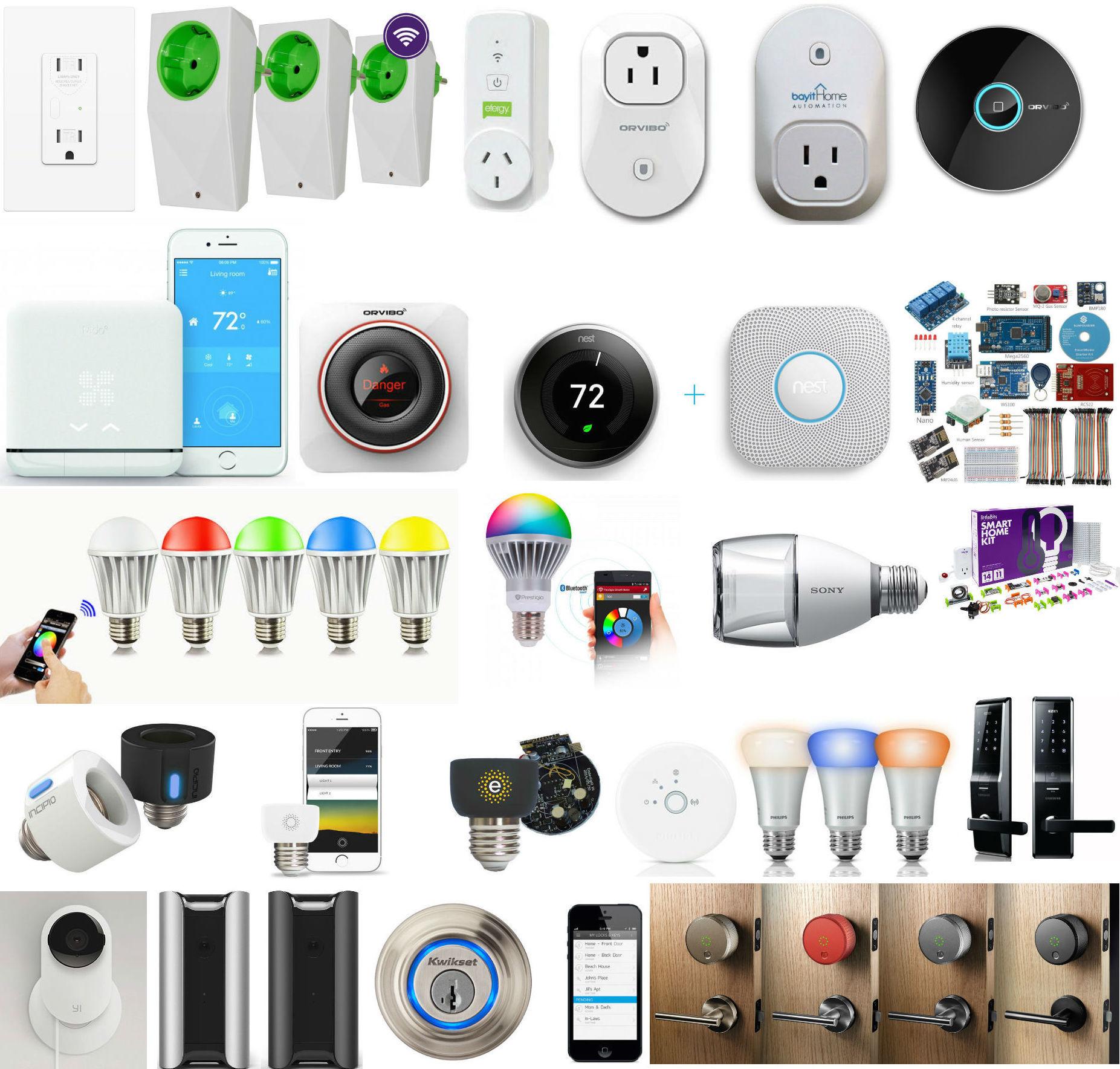 Почти весь умный дом: большая подборка отдельных смарт-элементов: лампы, розетки, климат, экология и безопасность - 1