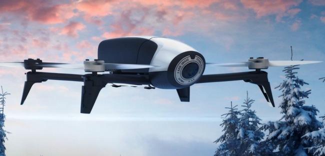 Потребительский дрон Parrot Bebop 2 может находиться в воздухе вдвое дольше предшественника - 2