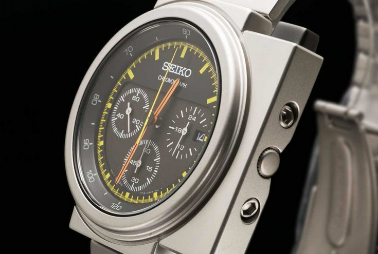 Seiko X Giugiaro Spirit Smart — возрождение легендарной модели Giugiaro 7A28-7000
