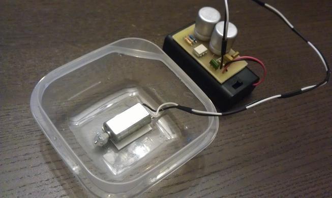 Виброускоритель травления плат или куда деть npn-транзисторы - 1