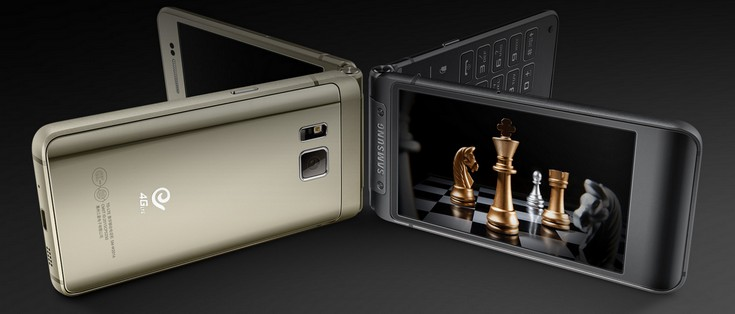 Представлен смартфон Samsung W2016