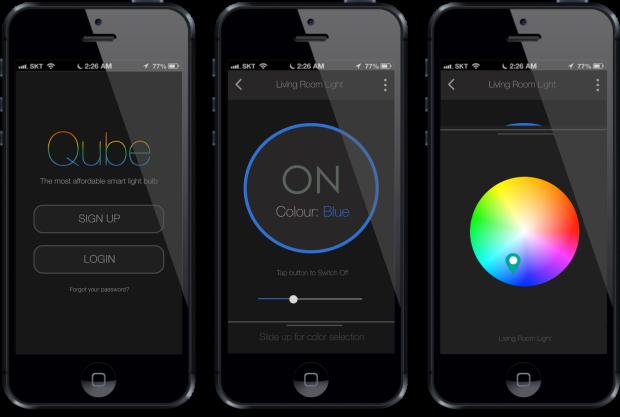 Qube — лампа, которая оповещает о входящих и синхронизируется с Fitbit, за $19 на Indiegogo - 2
