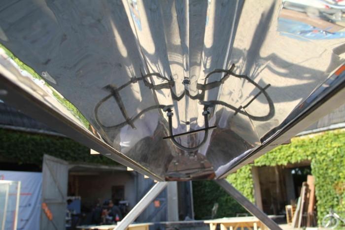 Дешёвый солнечный концентратор и парообразователь на Arduino. Зеркала и пар с температурой до 250°C - 3
