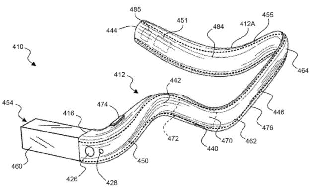 Новая модель Google Glass может превратиться в умный монокль