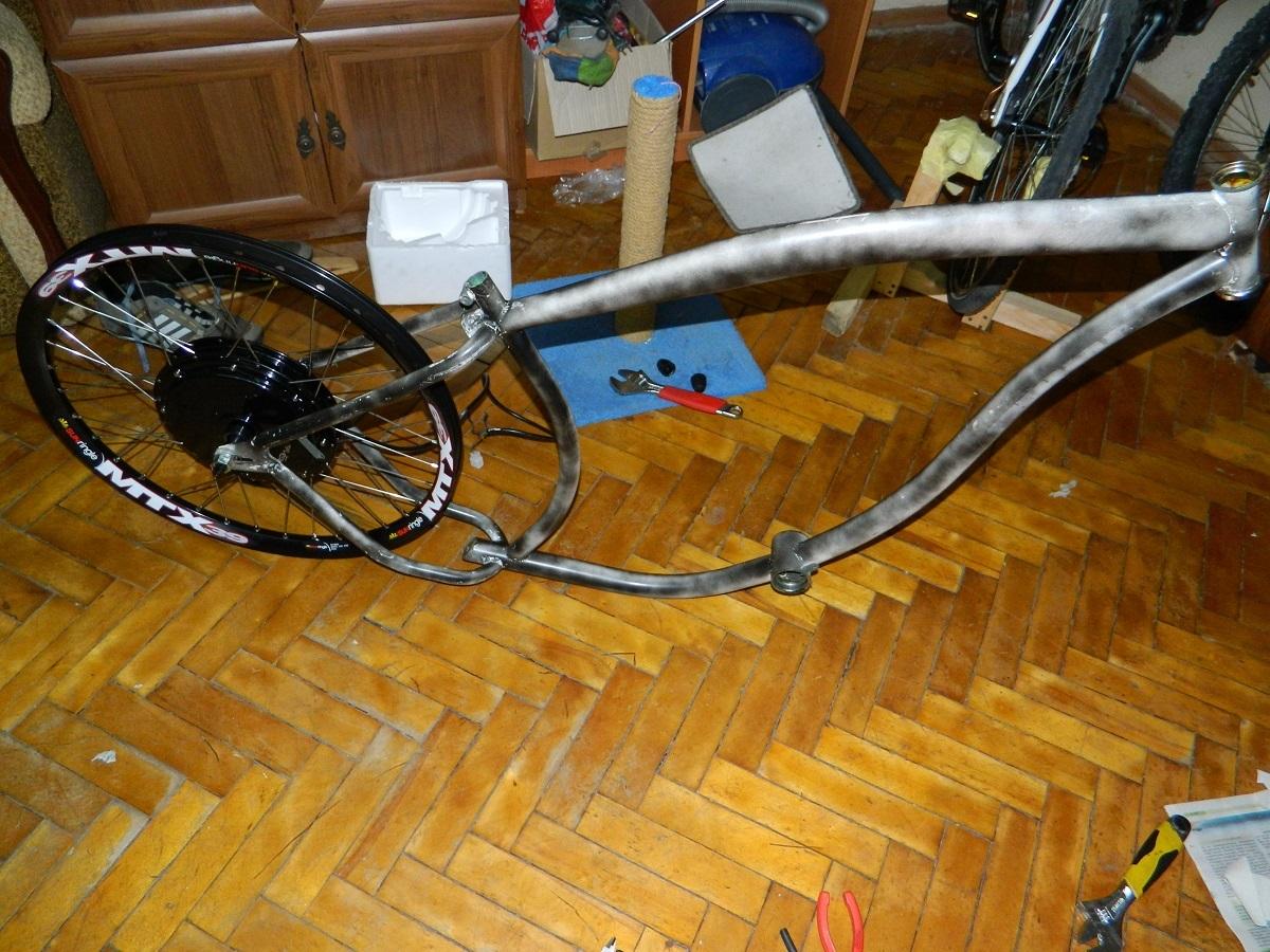 Как я строил бюджетный электро-вело чоппер - 2