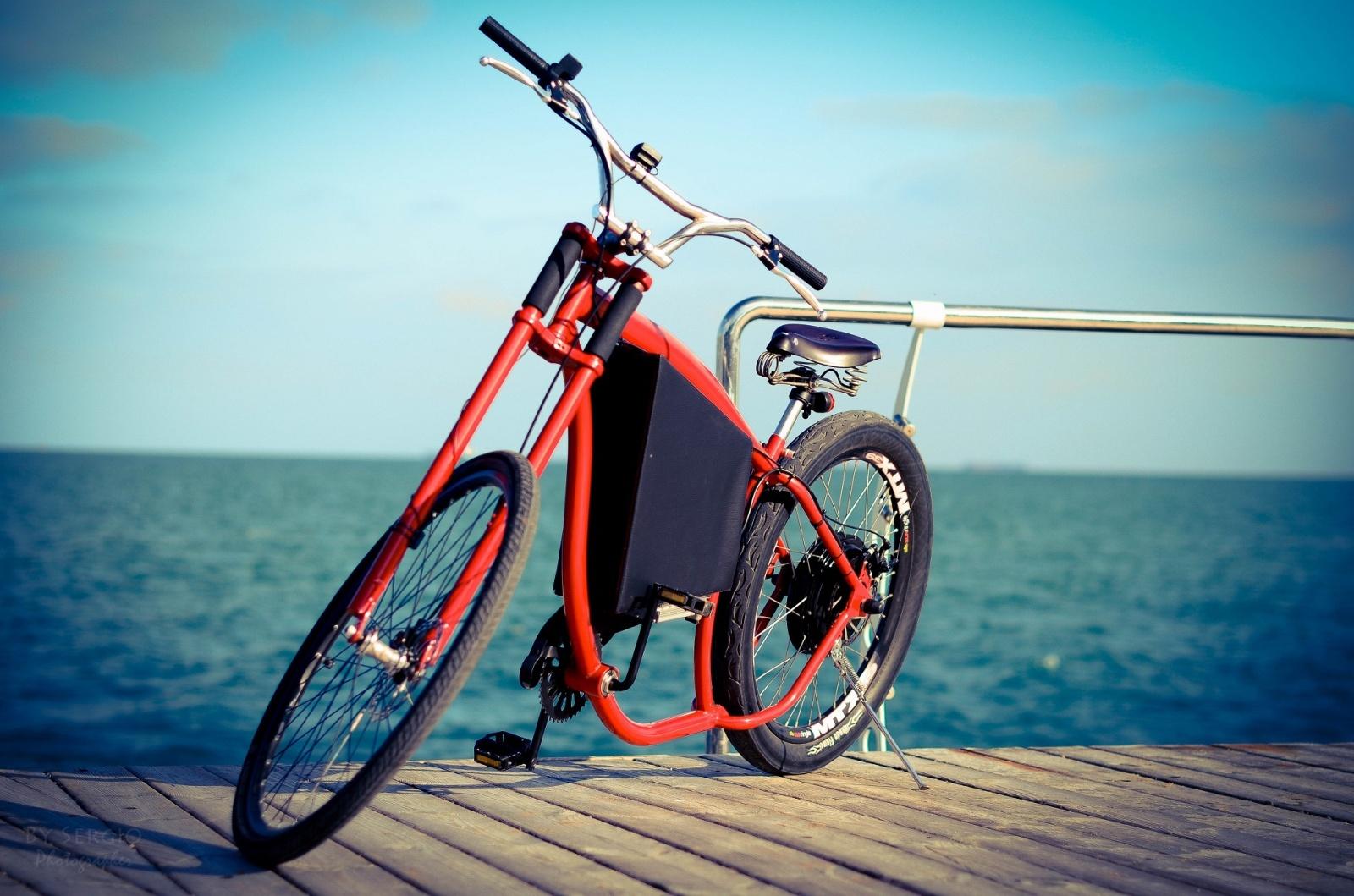 Как я строил бюджетный электро-вело чоппер - 6