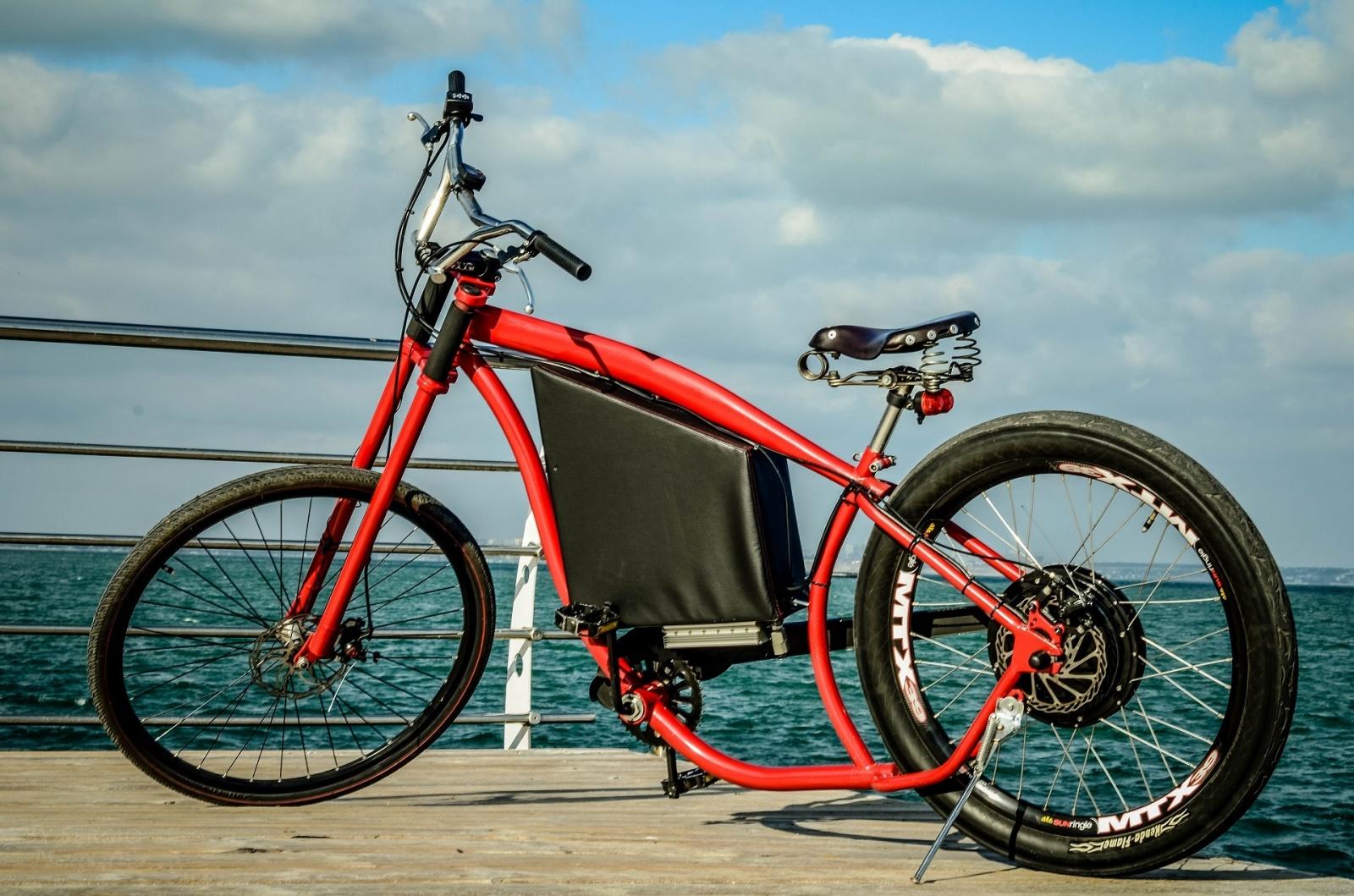 Как я строил бюджетный электро-вело чоппер - 8